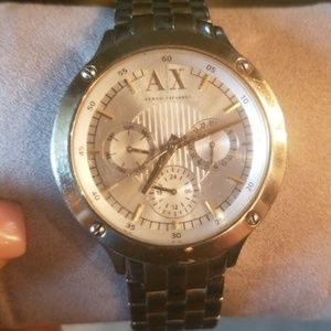 💕Armani Exchange Ladies Two Tone Watch